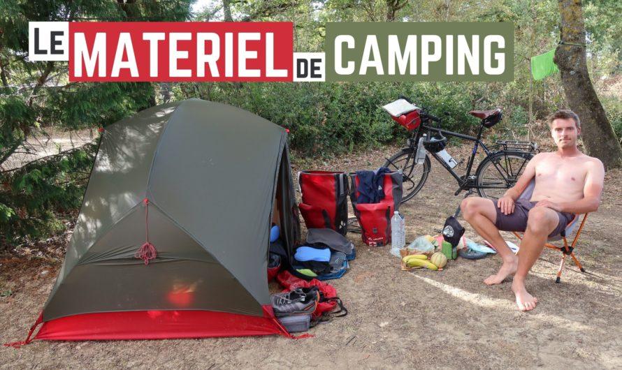 LE MATÉRIEL DE CAMPING