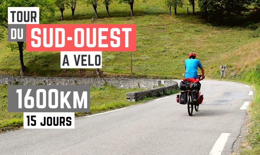 TOUR DU SUD OUEST DE LA FRANCE À VÉLO